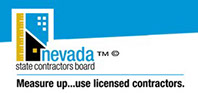 Nevada State Contractor's Board Logo and link